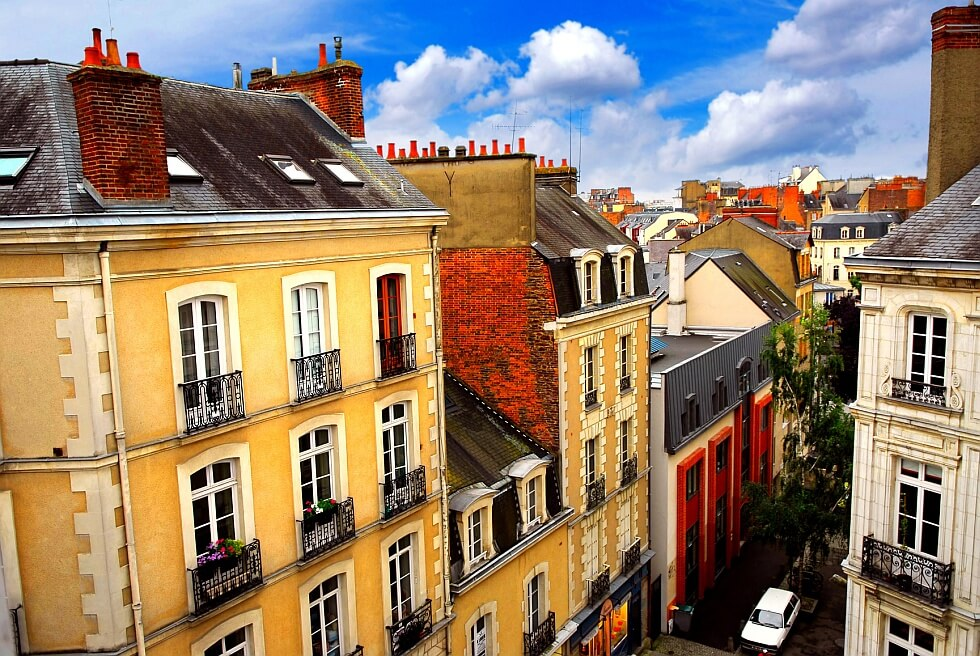 Street in Rennes